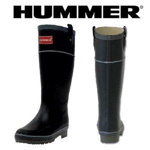 HUMMER(ハマー) ラバーブーツ レディース L ブラック