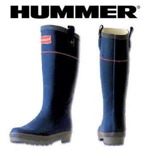 HUMMER(ハマー) ラバーブーツ レディース L インディゴ