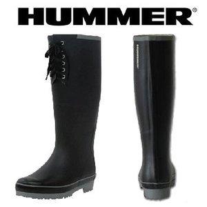 HUMMER(ハマー) ラバーブーツ レディース M ブラック