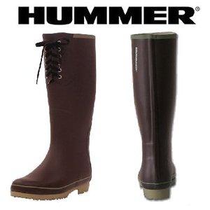 HUMMER(ハマー) ラバーブーツ レディース LL ブラウン