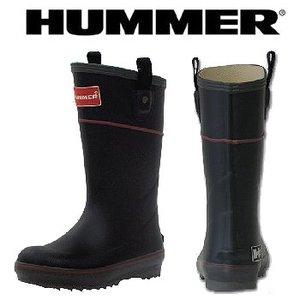 HUMMER(ハマー) ラバーブーツ ジュニア 24.0cm ブラック