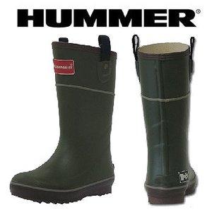 HUMMER(ハマー) ラバーブーツ ジュニア 19.0cm カーキ