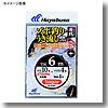 海戦 真鯛・イサキズボ釣り・ウキ流し 4本鈎 鈎11/ハリス5 金