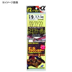 ハヤブサ(Hayabusa) 投げ釣り+α カモフラージュ 投げ五目 鈎13/ハリス4 茶