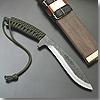 関伝古式和鉄製錬 飛切り匠多重鋼紐巻 ククリタイプ