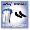 Wizard(ウィザード) MODE WORK 半袖ジャージ (TYPE−2) & WIZARD アームウォーマー セット