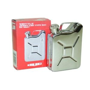 DUG(ダグ) ジェリー缶スキットル 6OZ シルバー