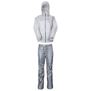 フェニックス(PHENIX) AIRLY RAIN SUITS Women's SW LG(ライトグレー)