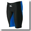ハーフスパッツRX スリートサイズ Men's S 92(ブラック×ブルー)
