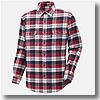 73AM300 ブレスサーモ・ウールトレイルシャツ Men's XL 62(レッド)