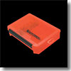 VS3020NDDMスピナーベイトケース オレンジ×ブラック