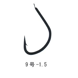がまかつ(Gamakatsu) 海津(糸付45cm) 鈎9/ハリス1.5 黒