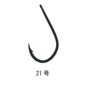がまかつ(Gamakatsu) 管付ソイ鈎 21号 銀