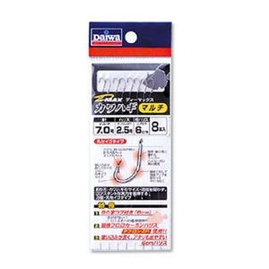 ダイワ(Daiwa) D-MAXカワハギ(糸付き) 鈎6.5/ハリス2 マルチ