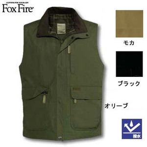 Fox Fire(フォックスファイヤー) マイクロトラベラーベスト ブラック XL