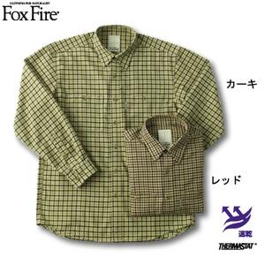 Fox Fire(フォックスファイヤー) サーマスタットガンクラブシャツ レッド XL