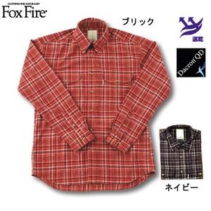 Fox Fire(フォックスファイヤー) QDソフトクラシックチェックシャツ ネイビー L