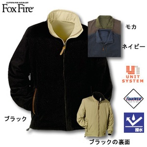 Fox Fire(フォックスファイヤー) トランスウェットマイクロリバーシブルジャケット モカ M