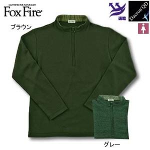 Fox Fire(フォックスファイヤー) QDCグレンチェックジップ M ブラウン