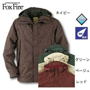Fox Fire(フォックスファイヤー) エアロポーラスFWキナイチェックジャケット レッド M