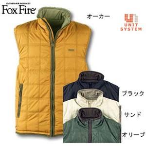 Fox Fire(フォックスファイヤー) バウンダリーリバーシブルベスト ブラック L