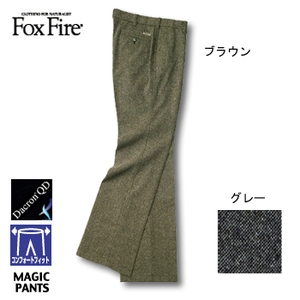 Fox Fire(フォックスファイヤー) ネップツィードCFストレッチパンツ ブラウン 91