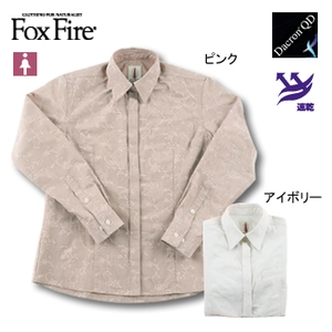 Fox Fire(フォックスファイヤー) QDソフトストークジャガードシャツ L アイボリー