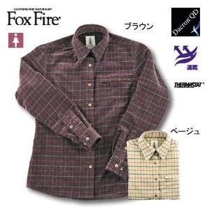 Fox Fire(フォックスファイヤー) サーマスタットタッターソールシャツ L ブラウン