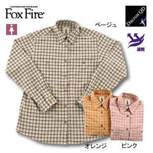 Fox Fire(フォックスファイヤー) QDソフトブロックチェックシャツ L オレンジ