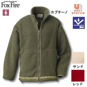 Fox Fire(フォックスファイヤー) ポーラジップジャケット L レッド