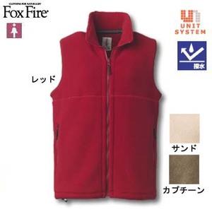 Fox Fire(フォックスファイヤー) ポーラジップベスト M カプチーノ