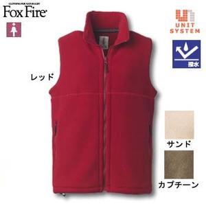 Fox Fire(フォックスファイヤー) ポーラジップベスト L レッド