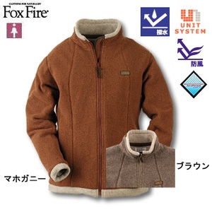 Fox Fire(フォックスファイヤー) ポーラトレイルウィンドジャケット S マホガニー