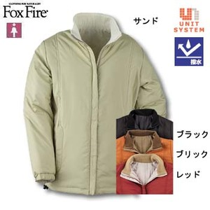 Fox Fire(フォックスファイヤー) ベテルスリバーシブルジャケット M ブラック