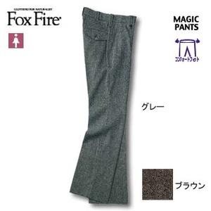 Fox Fire(フォックスファイヤー) ネップツィードCFストレッチパンツ S ブラウン