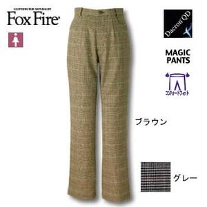 Fox Fire(フォックスファイヤー) QDCグレンチェックCFストレッチパンツ M ブラウン
