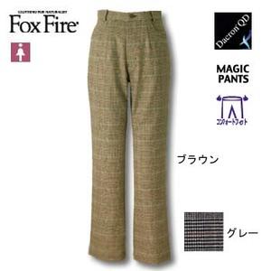 Fox Fire(フォックスファイヤー) QDCグレンチェックCFストレッチパンツ L ブラウン