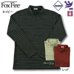 Fox Fire(フォックスファイヤー) トランスウェットサーマルマルチボーダー L レッド