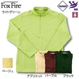 Fox Fire(フォックスファイヤー) トランスウェットサーマルパイルジップ L ブラック