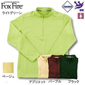 Fox Fire(フォックスファイヤー) トランスウェットサーマルパイルジップ S ライトグリーン