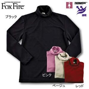 Fox Fire(フォックスファイヤー) サーマスタットハイネックタートル M ブラック
