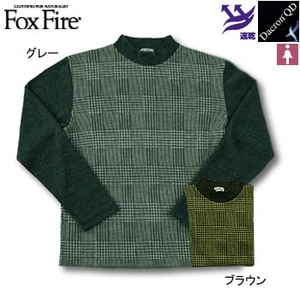Fox Fire(フォックスファイヤー) QDCグレンチェックモック L グレー