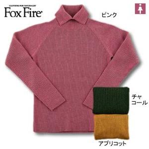 Fox Fire(フォックスファイヤー) メリノウールハイネックセーター M アプリコット