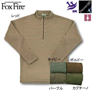Fox Fire(フォックスファイヤー) QDCミニボーダージップ L ネイビー