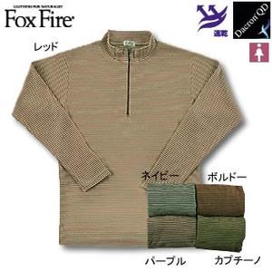 Fox Fire(フォックスファイヤー) QDCミニボーダージップ M ボルドー