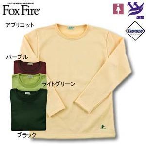 Fox Fire(フォックスファイヤー) トランスウェットサーマルパイルロングT L ブラック