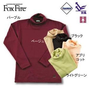 Fox Fire(フォックスファイヤー) トランスウェットサーマルパイルハイネック S ブラック