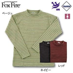 Fox Fire(フォックスファイヤー) トランスウェットサーマルマルチボーダーモック L ベージュ