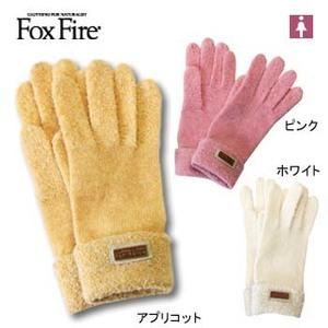 Fox Fire(フォックスファイヤー) ループヤーンニットグラブ フリー アプリコット