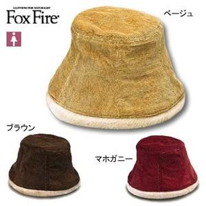 Fox Fire(フォックスファイヤー) ネップコールクローシュ M マホガニー